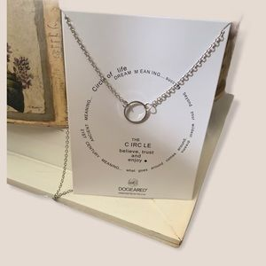 Circle of Life Dogeared Necklaces